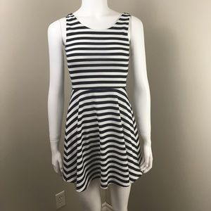 Divided H&M Striped Dress Size 4